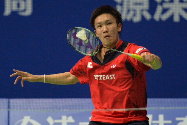 Kento Momota is the third highest ranked Japanese singles player behind Kenichi Tago and Takuma Ueda.