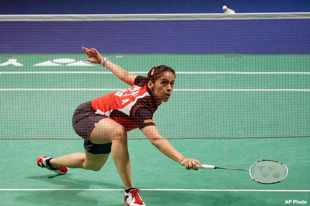 Indian badminton ace Saina Nehwal.