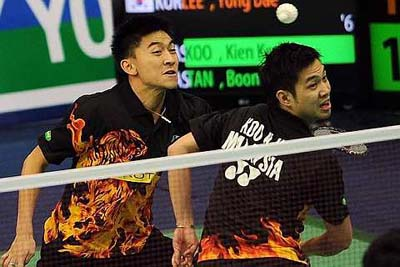 Fewer meets: Kien Keat-Boon Heong participation in the Super Series events will be scaled down in view of the major tournaments in store for them this year
