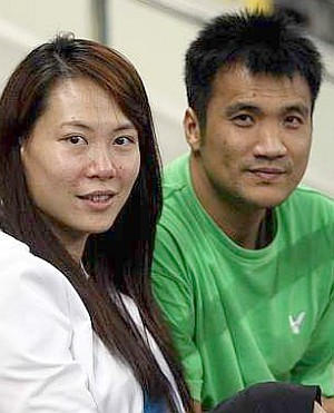 Lovebirds: Tan Fook and Jiewen will wed today.
