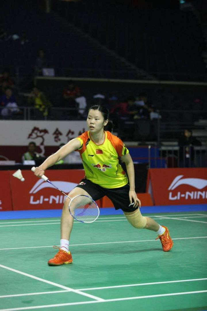China's Li Xuerui (pictured) will be among the stars to headline the US$300,000 OUE Singapore Open badminton championships from April 8 to 13 at the Singapore Indoor Stadium. Photo courtesy of the Singapore Badminton Association.
