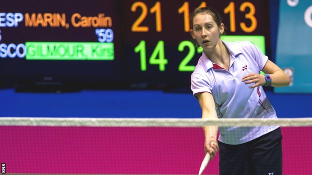 Scotland's top women's singles player Kirsty Gilmour has moved into badminton's top 20 for the first time.