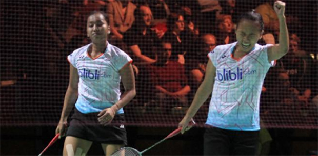 Della Destiara Haris/Rosyita Eka Putri Sari are in the final of German Open