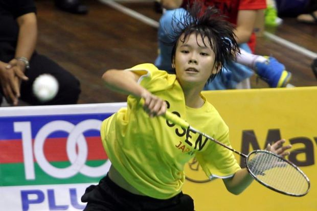 Goh Jin Wei has a knack for beating players older than her and will hoping to do well in the Asian Junior Championships.
