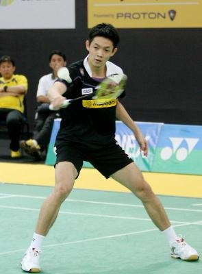 Getting it right: Daren Liew has been working on his weak points, physical fitness and mental preparation, as he prepares for the Thomas Cup