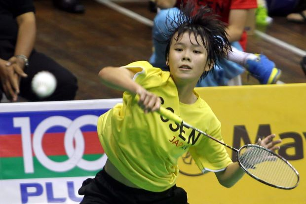No small feat. 13-year-old Goh Jin Wei be the youngest player at the World Badminton Junior Championships beginning Wednesday in Bangkok.