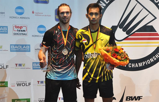 Jan Jorgensen and Sung Ji Hyun lift German Open titles
