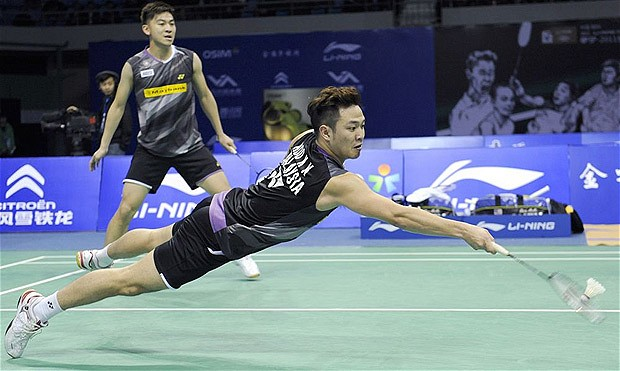 Koo Kien Keat/Tan Boon Heong take revenge on Lee Sheng Mu/Tsai Chia Hsin