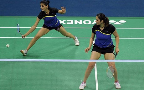 Skirting the issue: Indian shuttlers Jwala Gutta and Ashwini Ponnappa