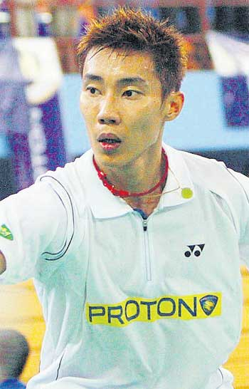 Lee Chong Wei will have another chance at beating his rival Lin Dan if they meet in the semi-finals.