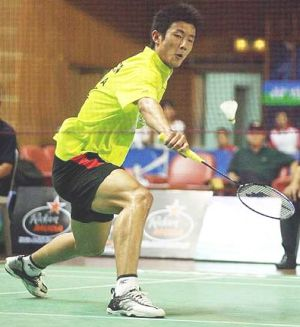 Chen Long: 'The journey to being a big star is not easy. It all depends how much one can give in practice sessions'.