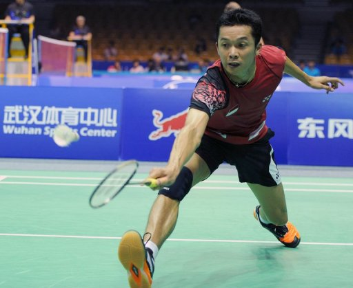 Taufik Hidayat took the men's singles gold medal in Athens eight years ago