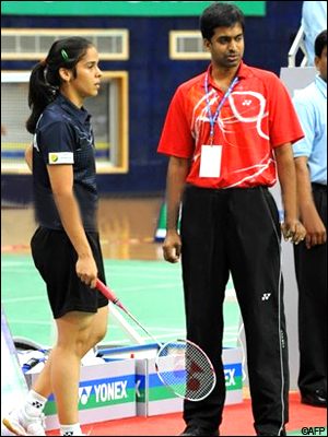 Gopichand was advicing Saina