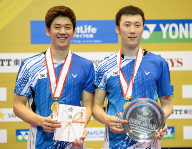 Lee Yong-dae and Yoo Yeon-seong ready for Asiad