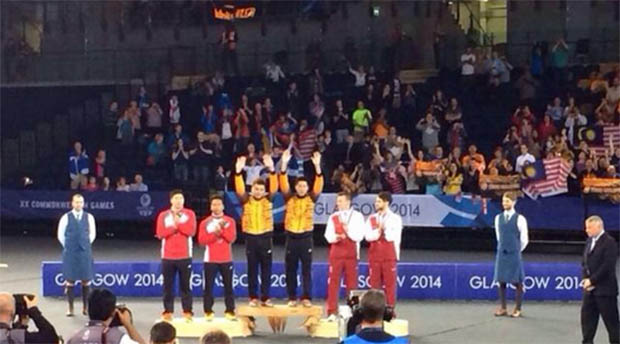 Glasgow 2014 badminton finals results - 2 golds for Malaysia