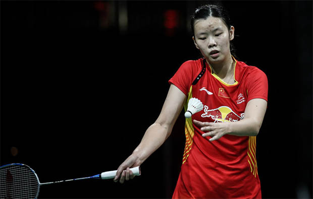 Li Xuerui vs Carolina Marin in women's singles final