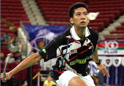 Good run: Mohd Hafiz Hashim will face Vietnamese Nguyen Tien Minh in the semis Saturday