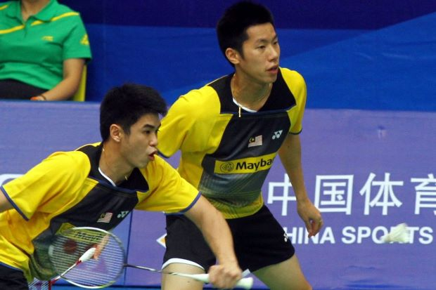 Lim Khim Wah-Goh V Shem struggled to beat Scotland's Martin Campbell-Patrick Machugh in the first round.