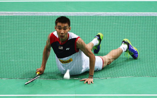 Chong Wei advances to third round of World Championships after hard-fought win over Indonesia's Rumbaka