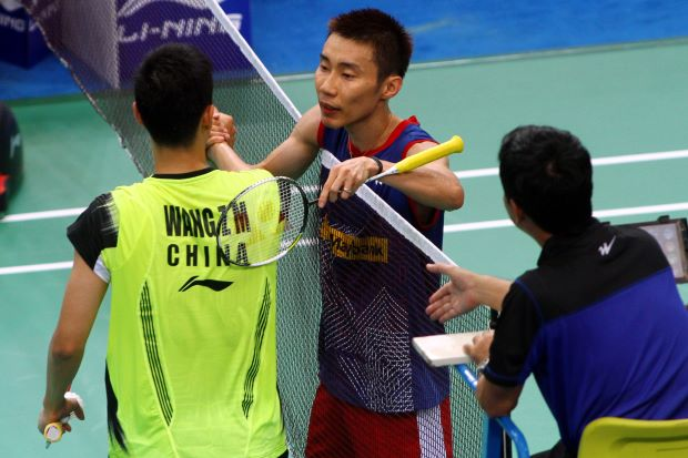 Lee Chong Wei beat Wang Zhengming in 37 minutes at badminton World Championships