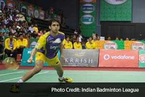 Banga Beats, the Bangalore based team's icon player Parupalli Kashyap gave his all but could not defeat Mumbai Masters' Russian giant Vladimir Ivanov.