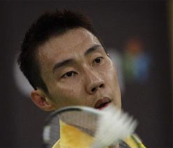 Lee Chong Wei at Indian Badminton League
