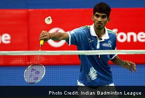K Srikanth beats Saurabh Verma of Pune Pistons 21-18 21-16 in first men's singles