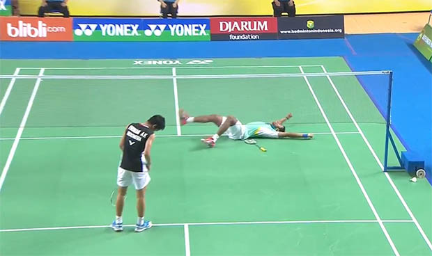H.S Prannoy spoils Indonesia's clean sweep at Indonesian Masters GPG