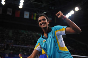 PV Sindhu, Pawar, Jayaram reach second round of Japan Open badminton