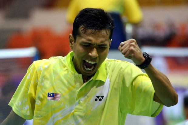 Iskandar plays in the quarter-finals of team event