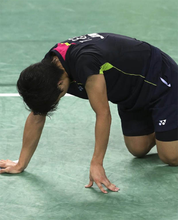Asian Games Men's Team QF: Korea upset Thomas Cup Champion Japan 3-2