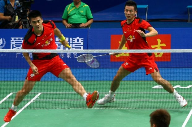 Cai Yun-Fu Haifeng are in the same team as Lee Chong Wei in the China league.
