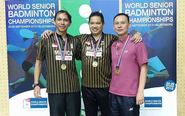 Indonesia win four golds at Senior World Championships in Sweden