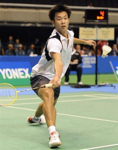 Boonsak Ponsana of Thailand lost to world number one Lee Chong Wei of Malaysia in the Japan Open on Wednesday