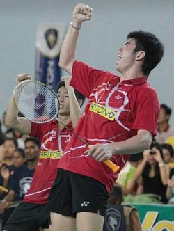 Break-up?: Lim Khim Wah (front) and Chan Peng Soon could go separate ways.