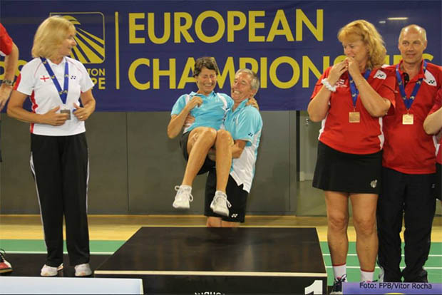 Results for the 2014 European Seniors Badminton Championships