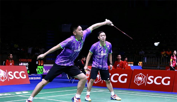 Koo Kien Keat/Tan Boon Heong battle into Thailand Open final