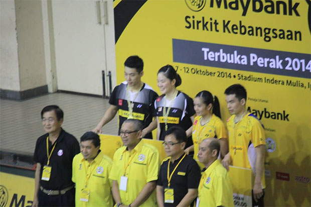 Double boost for Chan Peng Soon and Ng Hui Lin at Perak Open finals