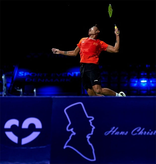 Lin Dan survives Denmark Open scare
