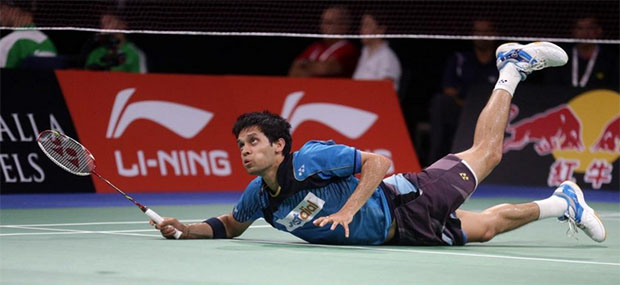 Denmark Open: P. Kashyap beats Jorgensen to play Chen Long in semis