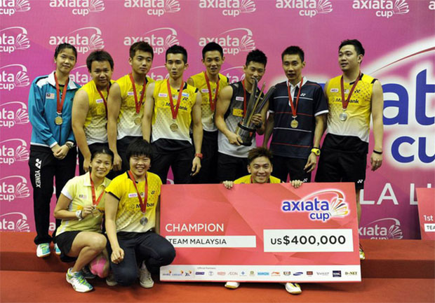 Axiata Cup increases prize money to USD 1 million