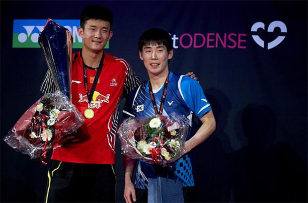 Chen Long, Li Xuerui win Denmark Open