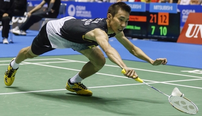 Gunning for a Danish delight: Lee Chong Wei will compete in the Denmark Open but not the French Open.