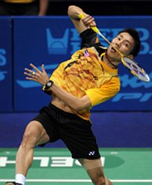 Master class: Lee Chong Wei did not drop a single game en route to the gold medal in New Delhi