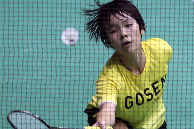 Penang's Goh Jin Wei won the KL Open Division Two title on Sunday.