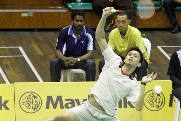 Misbun Ramdan Misbun added some spice to the recently concluded KL Open