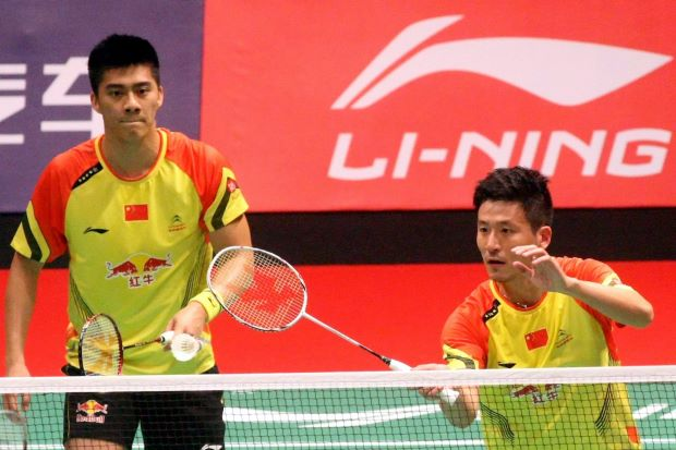 Four-time world champions Cai Yun-Fu Haifeng are back together for the HK Open, after being split up and paired with younger team-mates.