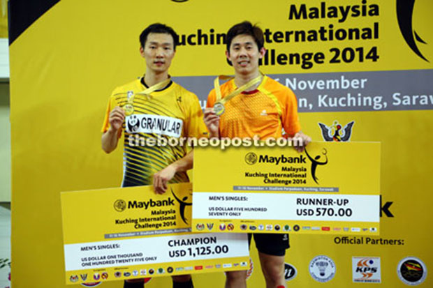 Lee Hyun-il outlasts Tan Chun Seang to win Kuching International
