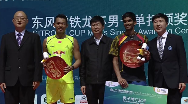 Fired-up Kidambi Srikanth stuns Lin Dan to win China Open