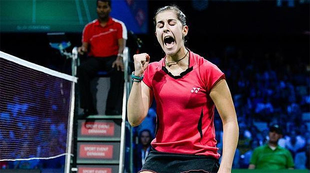 Hong Kong Open: Carolina Marin, Chen Long advance to semis
